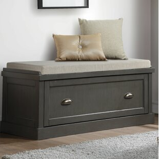 Darby Home Co Balduíno Wood Storage Bench