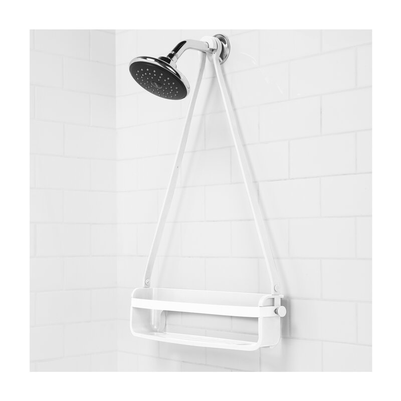 Flex Rubber/Plastic Hanging Shower Caddy & Reviews | AllModern