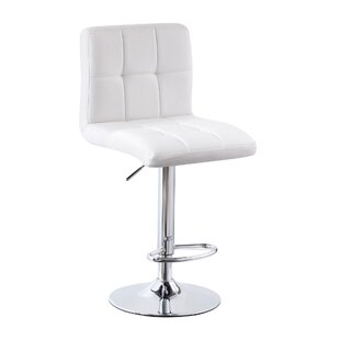 Matheson Height Adjustable Swivel Bar Stool By Ebern Designs
