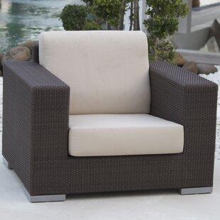 Brayden Studio Hicklin Arm Chair with Cushions