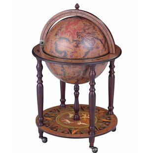 Kirchoff Globe Wine Mini Bar by Astoria Grand