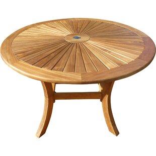 Look for Kingon Sun Teak Dining Table Purchase Online