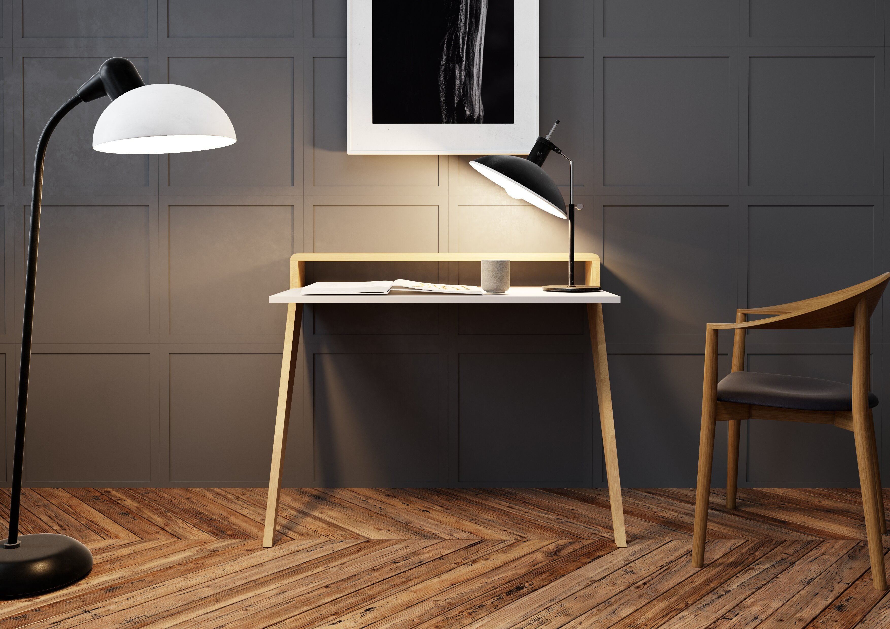 surprising floating desk