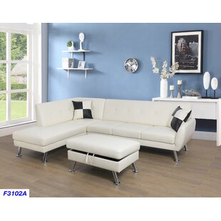 Orren Ellis Dolan Modern Sectional with O..