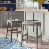 Lou 24 Counter Stool (Set of 2) by Gracie Oaks