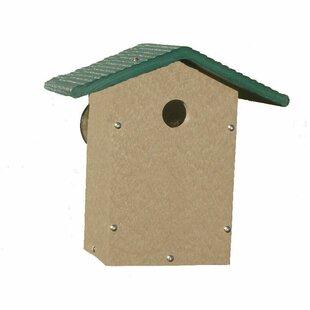 Birds Choice Recycled Window Mount 9in x 6in x 9in Wren House