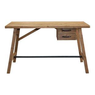 Gracie Oaks Ravenden Timber Desk