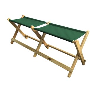 Abdul Folding Camping Bench By Freeport Park