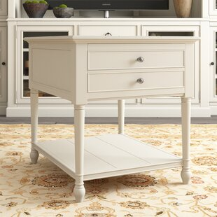 Compare prices Payton End Table With Storage by Canora Grey
