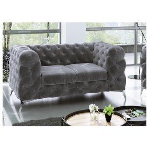 Fleischmann 2 Seater Chesterfield Sofa By Fairmont Park