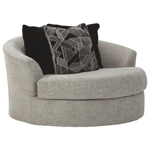 Nevra Swivel Barrel Chair