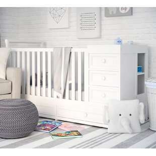 Shiloh 2-in-1 Convertible Crib and Changer By Viv + Rae