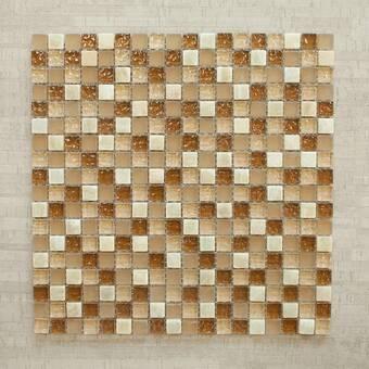 Long Island Mosaics Tile Victory 0 625 X 0 625 Glass Mosaic Tile Wayfair