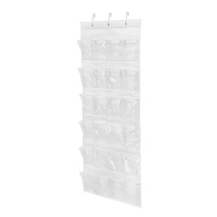 Read Reviews 12 Pair Overdoor Shoe Organizer By Honey Can Do