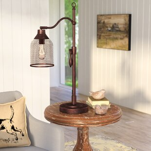 August Grove Laurent Arched Table Lamp