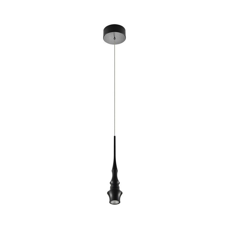 Orren Ellis Shrock 1 Light Led Cylinder Geometric Pendant Wayfair