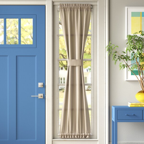 Front Door Side Light Curtains Wayfair