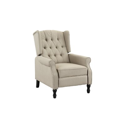 Eleni Tufted Manual Recliner by Andover Mills