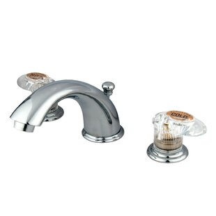 Kingston Brass Magellan Widespread Bathroom Faucet with Drain Assembly