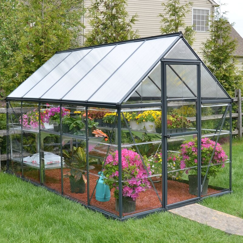 Palram Hybrid 6 Ft. W X 10 Ft. D Greenhouse & Reviews