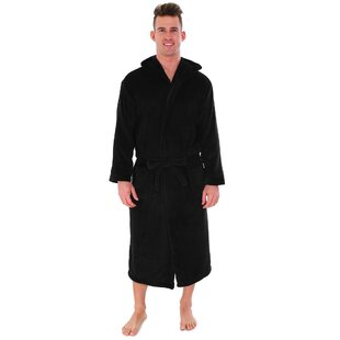 Garbo Hotel Pocketed Fleece Bathrobe