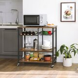 Aticus Kitchen Cart by Foundry Select