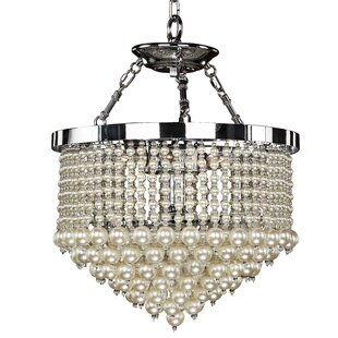 3-Light Novelty Chandelier by Glow Lighting
