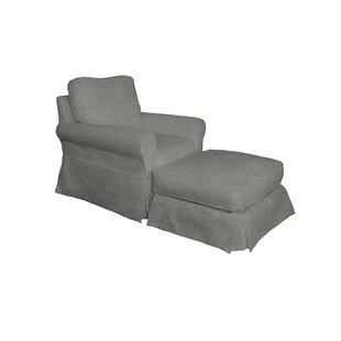 Chair And Ottoman Slipcover Wayfair