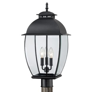 Three Posts Millbrook Outdoor 3-Light Traditional Lantern Head