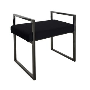 Wrought Studio Reiter Metal Vanity Bench