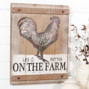Farm Sign Wayfair