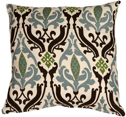 Alcott Hill Arcadia Print Linen Throw Pillow Reviews Wayfair