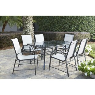8715e2a83a0e Osprey 7 Piece Patio Dining Set. by Ebern Designs