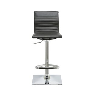 Kranz Adjustable Height Swivel Bar Stool Orren Ellis