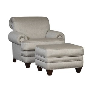 Chelsea Home Furniture Jan Chair and Ottoman