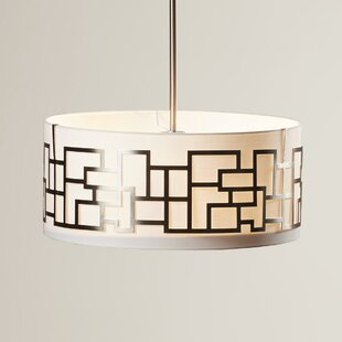 George Kovacs by Minka Brockman 3-Light Pendant