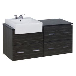 48 Single Modern Wall Mount Bathroom Vanity Set by American Imaginations