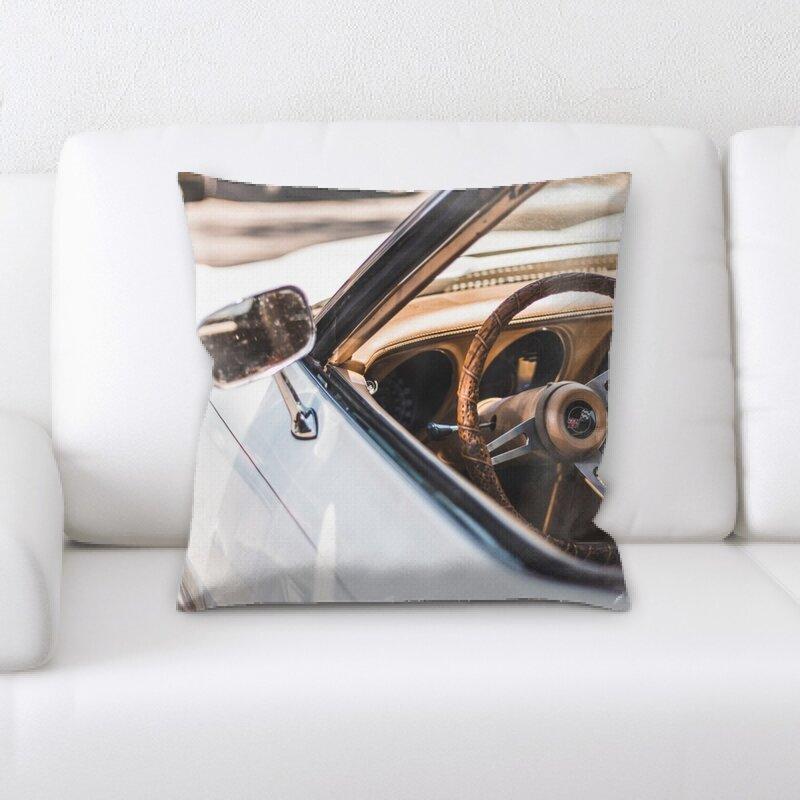 Rug Tycoon Steering Wheel Throw Pillow Wayfair