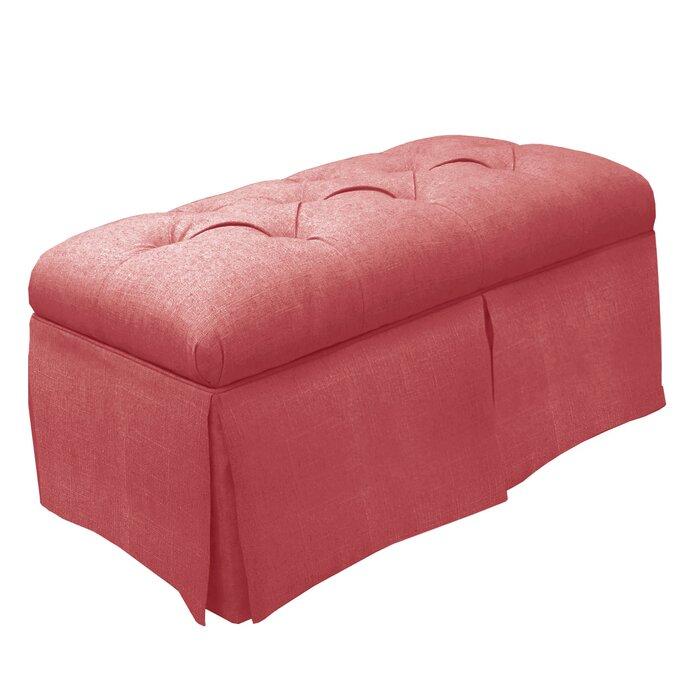 Stupendous Tufted Fabric Storage Bench Spiritservingveterans Wood Chair Design Ideas Spiritservingveteransorg