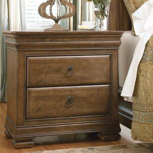 Mauritane 2 Drawer Nightstand