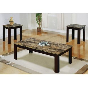 Messer 3 Piece Coffee Table Set By Winston Porter