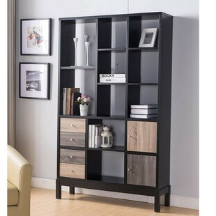 Lera Display with Multiple Shelves Standard Bookcase by Brayden Studio