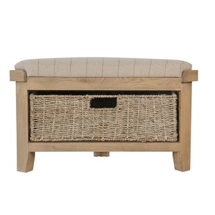Leda Wood Storage Bench By House Of Hampton