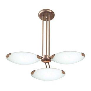 Ebern Designs Tukwila 3-Light Sputnik Chandelier