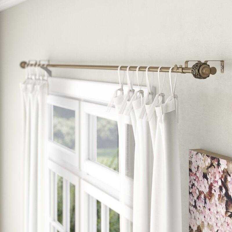 Lark Manor Lamarre Double Curtain Rod And Hardware Set Reviews Wayfair Ca