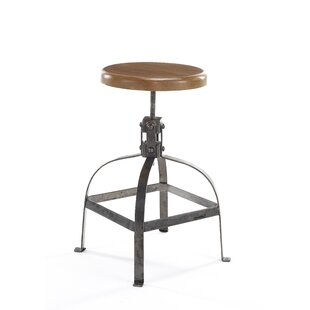 Levin Height Adjustable Bar Stool By Borough Wharf