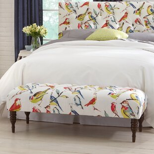 Selma Tufted Birdwatcher Bench by Darby Home Co