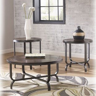 Anner 3 Piece Coffee Table Set