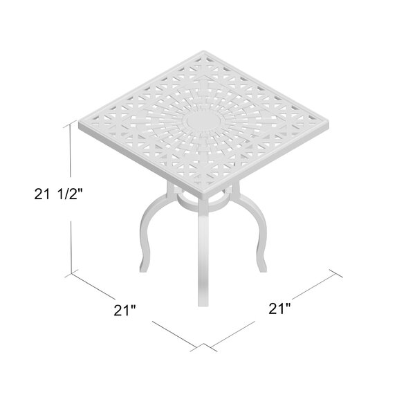Darby Home Co Bosch Metal Side Table Reviews Wayfair