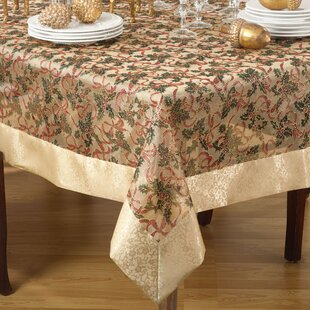 Ramsdell Printed Christmas Tablecloth by The Holiday Aisle Wonderful